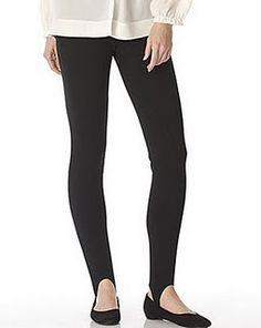 LMAO stirup stretch pants. Would work so well now with boots!