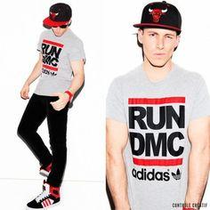 boy style; RUN DMC