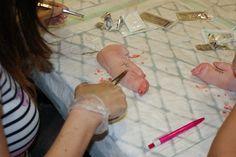 Un altre moment del taller sutures #vjornadesaificc @aificc