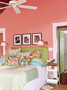 Beautiful wall colour
