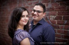 Engagement photo session with Lindsey Reed Photography