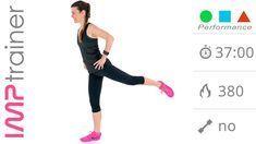 Ninja Workout! Allenamento Brucia Grassi Ad Alta Intensità Per Gambe e Glutei - YouTube