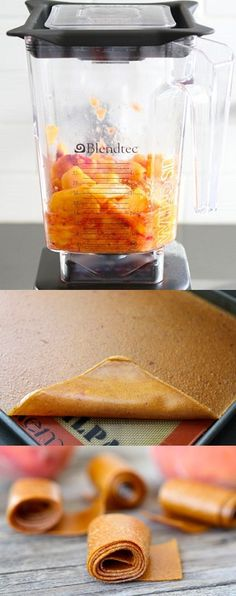 Homemade Fruit Leath