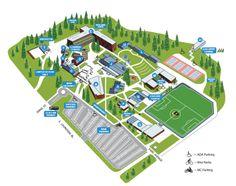 Cabrini College Campus Map.8 Best Campus Maps Images Blue Prints Campus Map Cards