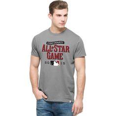'47 2015 MLB All-Star Game Logo Flanker T-Shirt - Gray - $29.99