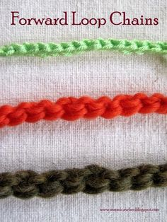 Mr. Micawber's Recipe for Happiness: Forward Loop Chain: an Alternative to Standard Cha...