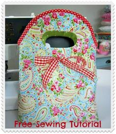 How to Sew Bow Bags - Free Sewing Tutorial from Debbie Shore | PatternPile.com