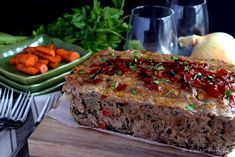 Bacon Veggie Meatloaf