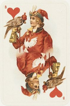 Valet de corazones - Juego de cartas finlandes - 1899