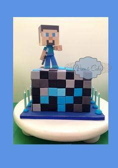 Viva La Cake I Blog: Tutorial: super Easy Minecraft Cake