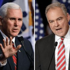 Pence and Kaine, 5 Things to Know About the Men Who Want to be Vice-President