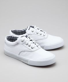 Nautica White Carlsbad Sneaker  by Blow-Out on #zulily #fall