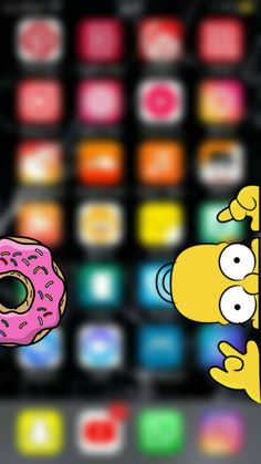 Descarga gratis wallpaper de los Simpson - Fondos de pantalla para iPhone #simpson #homero #wallpapersimpson #lisa #bart Simpson Tumblr, Psychedelic Art, Wallpaper S, Goku, Cartoons, Ideas, Best Wallpapers For Iphone, Iphone Backgrounds Tumblr, Iphone Wallpapers