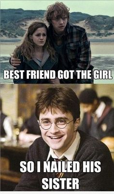 Harry is also related to the Old High German word 'Heri' which means 'army'.Harry Potter is a character. Many people like him. So today, we collect some Harry Potter Memes funniest.Hopefully you will enjoy these Harry Potter Memes funniest. Harry Potter Tumblr, Twilight Harry Potter, Mundo Harry Potter, Harry Potter Jokes, Harry Potter Fandom, Harry Potter World, Minion Meme, Daniel Radcliffe, Disney Memes
