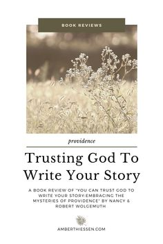Do you trust God with your story? Maybe that's a loaded question for you in the circumstances you are facing in this chapter. Perhaps it is the question you are seeking to answer for yourself. In the most difficult moments of my life it was the clearest choice I had to make, whether I would trust him with my story. Read this review to find encouragement in your Christian living.