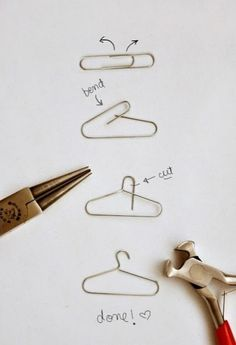 How to make Mini Cloth Hanger DIY step by step tutorial instruction | Welcome Craft