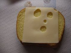 swiss cheese face