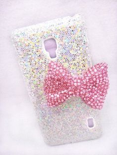Pink Crystal Bling Shiny Glitter 3D Bow Sparkles Special Rhinestone Party Classic Case Cover For LG Optimus F6 MS500 D500 MetroPCS T-Mobile, http://www.amazon.com/dp/B00GO7X8UM/ref=cm_sw_r_pi_awdm_ORsRsb1FX14J4