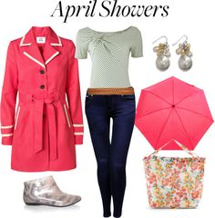 """""""Contest: April Showers"""" by riftkind ❤ liked on Polyvore"""