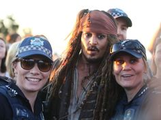 Johnny Depp torna a vestire i panni del capitano Jack Sparrow per il film ''Pirati dei Caraibi- Dead Men Tell No Tales'', quinto capitolo della