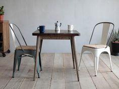 CRASH GATEKnot antiquesBRICK CAFE TABLE/クラッシュゲートノットアンティークスブリック カフェテーブル_3