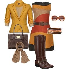 Earthy Outfit Colors