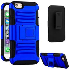 iPhone 6 Case,VAKOO® [Combo Series] [Belt Clip] Ultimate Heavy Duty Protection Shockproof Drop proof Holster iPhone 6 (4.7 inch) Kickstand Cases - Navy Blue Vakoo http://www.amazon.com/dp/B00YBZXJLC/ref=cm_sw_r_pi_dp_Gu4Bwb0AJAZEA