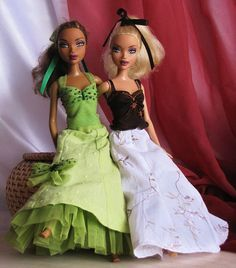 Expanded five-part skirt :: We are Sewing for Dolls