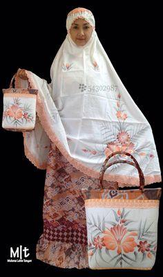 New Design, New Arrival. Mukena Lukis Tangan Seri Batik