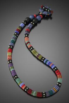 Beads Jewelry, Beaded Jewelry Patterns, Beading Patterns, Diy Jewelry, Handmade Jewelry, Jewelry Making, Beaded Necklaces, Handmade Wire, Jewelry Ideas