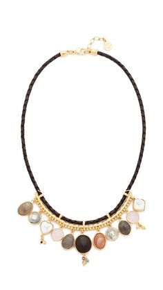 GAS Bijoux Anita Cuir Necklace