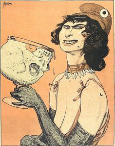 From Kladderadatsch, 1921.