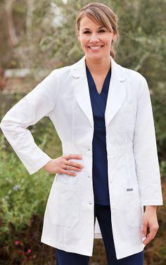 Greys Anatomy™ 3 Pocket Lab Coat w/ Back Belt by Barco Uniforms