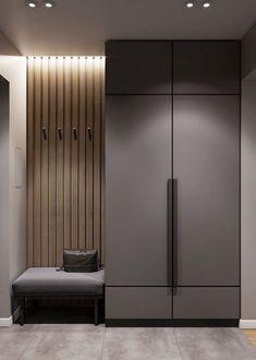 Wardrobe Interior Design, Wardrobe Door Designs, Wardrobe Design Bedroom, Home Interior Design, Flur Design, Hall Design, My Home Design, House Design, Home Entrance Decor