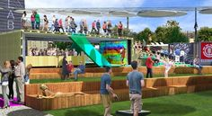 shipping container, park - Google Search