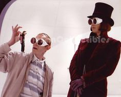 Charlie and the Chocolate Factory Photo Johnny Depp Adam Godley