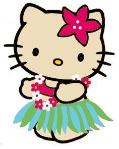 7d94139cb4 33 Best Hello Kitty Hawaiian Style images