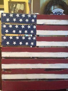 Pallet flag .