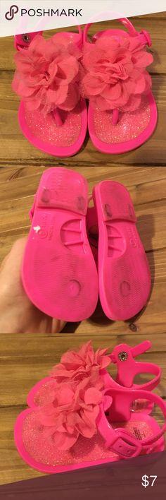 PINK Size 4 Toddler Jellies Sandals/Thongs PINK Size 4 Toddler Jellies Sandals/Thongs Shoes Sandals & Flip Flops