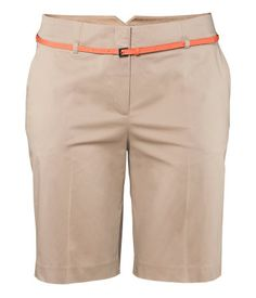 Again, not great for my body shape. But some other plus size ladies might want to snap up a pair of these cute high-waisted shorts with a narrow belt.