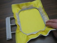 Tip for embroidering nylon