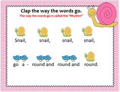 Snail, Snail {Kodaly Song to teach ti-ti, ta & la} by Stucki Education Station Easy Sheet Music, Singing Games, Music Worksheets, Music Composers, Music Activities, Elementary Music, Reading Resources, Music Lessons, Teacher Newsletter