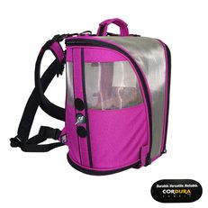Celltei- Birdie GoGo- Bird Carrier Design- in Cordura® Fuchsia Color with No Cups Added