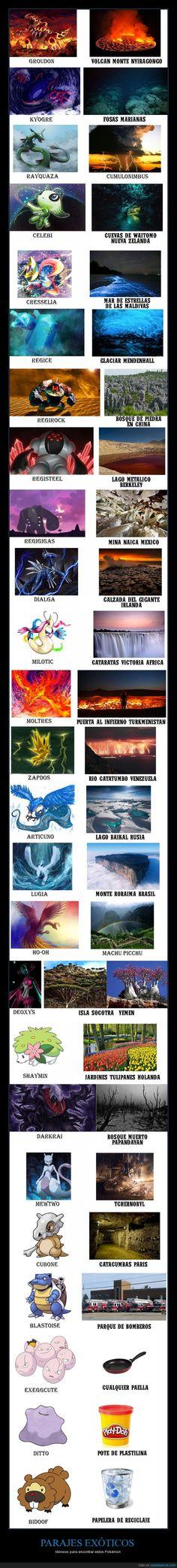 25 lugares de la Tierra apropiados para Pokémon legendarios - Idóneos para encontrar estos Pokémon   Gracias a http://www.cuantarazon.com/   Si quieres leer la noticia completa visita: http://www.estoy-aburrido.com/25-lugares-de-la-tierra-apropiados-para-pokemon-legendarios-idoneos-para-encontrar-estos-pokemon/