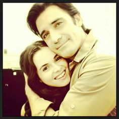 Giles and Vanessa ~ Switched at Birth Tv Actors, Actors & Actresses, Gilles Marini, Father And Daughter Love, Vanessa Marano, Switched At Birth, Big Lips, Abc Family, Melissa Mccarthy