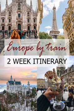 Travel Europe by Train – a 2 Week Itinerary Guide – Travel 2020 Venice Travel, Rome Travel, Inter Rail, Rail Europe, Europe Train Travel, Underground World, The Catacombs, Historical Architecture, Venice Italy