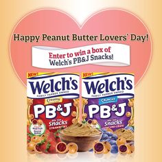 I just entered to #win a #FREE box of #WelchsPBJ Snacks from @WelchsFruitSnck! https://twitter.com/_MrsMontoya_/status/439843558653038593