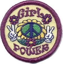 Girl Power Fun Patch