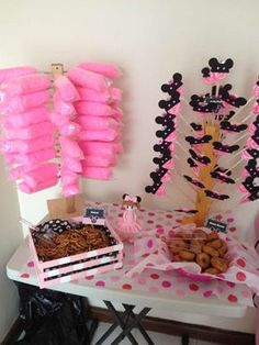 Minnie Mouse Birthday Party Ideas | Photo 28 of 29 | Catch My Party Minnie Mouse Theme Party, Mickey Mouse Clubhouse Birthday, Mickey Mouse Parties, Mickey Mouse Birthday, Mickey Party, 2nd Birthday Party Themes, Fun Party Themes, Birthday Parties, Party Ideas