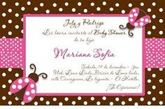 invitacion baby shower niña - Buscar con Google